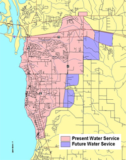 Daphne Utilities Water Service Area